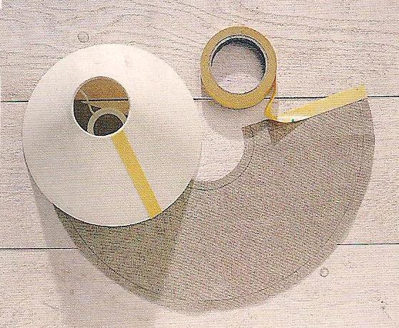 Come sostituire stoffa paralume